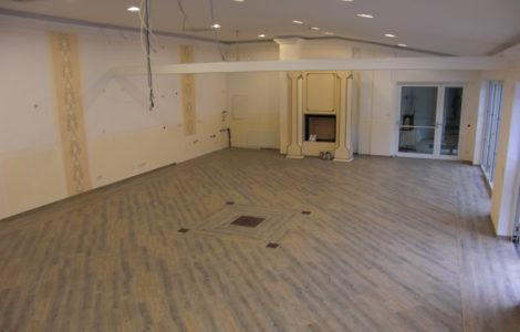 renovierung veranstaltungsraum xanten maler markt peters. Black Bedroom Furniture Sets. Home Design Ideas