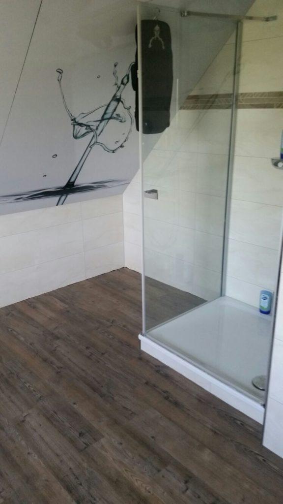 Designbelag Im Badezimmer Maler Markt Peters